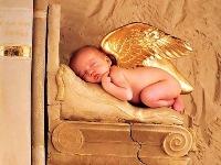 Открытка с новорожденным ребенком!